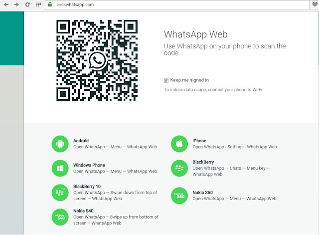 Whatsapp web preview on PC
