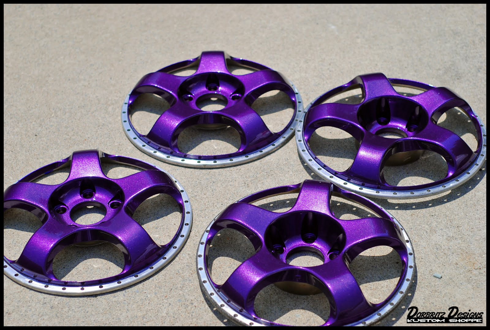 Here Is A Little Purple Rain For You On Some Work Meister Wheels Done Up In House Of Kolor Pavo Shimrin