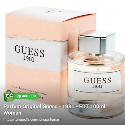 guess 1981 edt 100ml woman