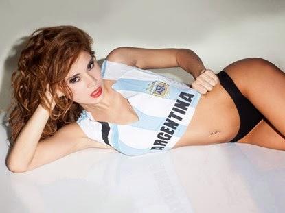 Messi sexy mời gọi gái châu Âu