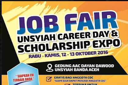 Rekrutmen Semen Indonesia Group - Job Fair Unsyiah 12-13 Oktober 2016