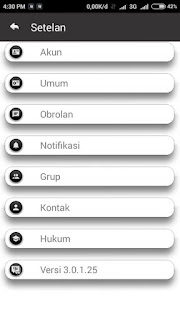 BBM Mod Minimal Versi Terbaru APK