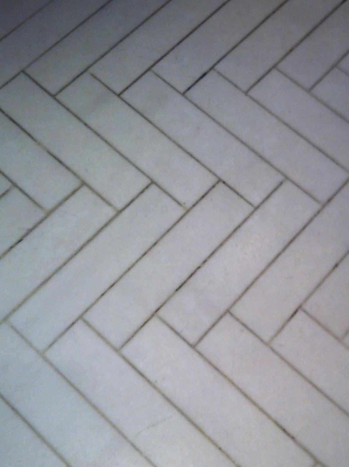 History Of Herringbone Marble Floor Tile In Pattern
