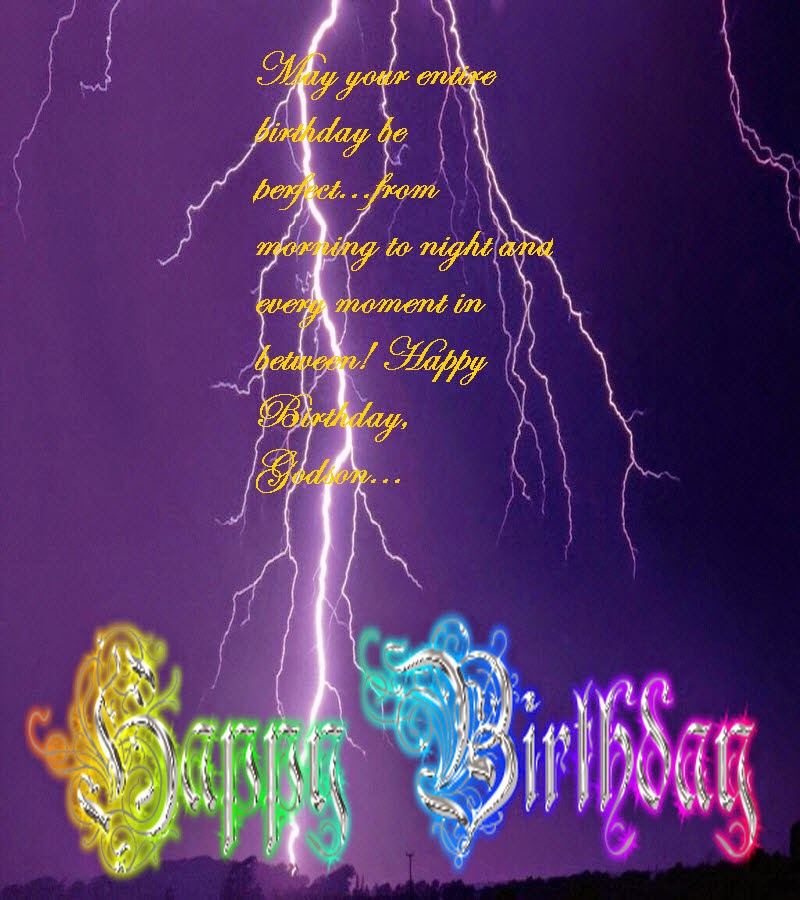 Happy Birthday Wishes For Godson- Happy Birthday Message