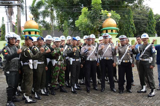 Patut Ditiru, Denpom Bone Bersama Polantas Polres Bone Gelar Operasi Gabungan Gaktib