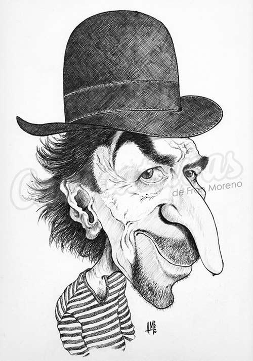 """""""Joaquín Sabina"""" por Fran Moreno"""