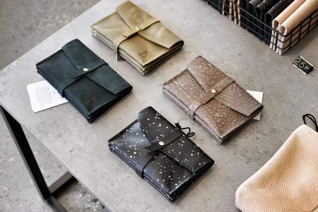 Hotspot Atelier Judith van den Berg Modekwartier Arnhem handgemaakte lederen tassen minimalistisch kwaliteit leren tas accessoires