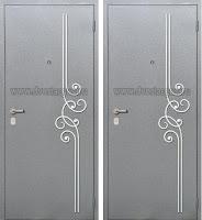 """Дверь с ковкой """"Корифей"""""""