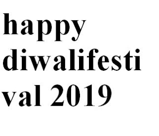 Happy Diwali Festival 2019