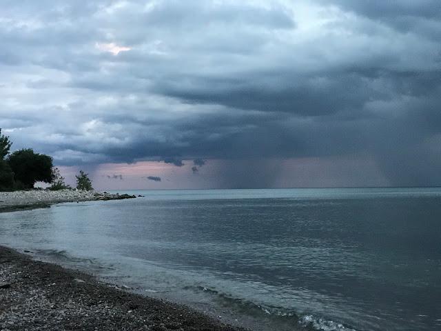 Lake Ontario- spooky sky