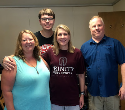 Kennedy-Long family at Trinity University