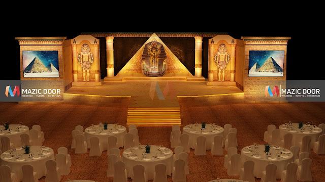 Egyptian Theme Stage Design 04