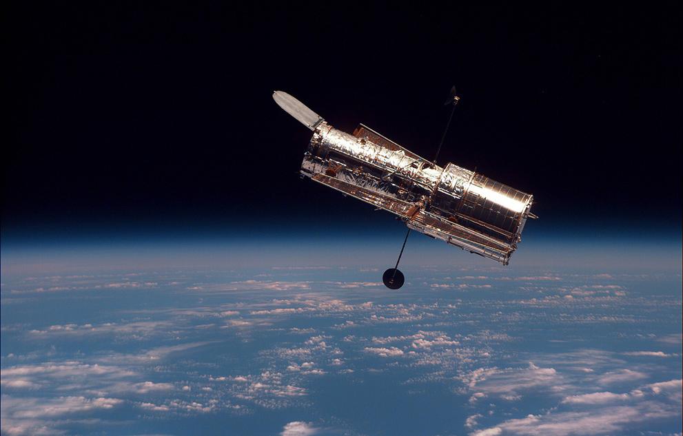 space shuttle hubble telescope - photo #13