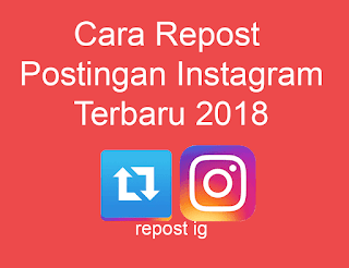 cara repost postingan instagram