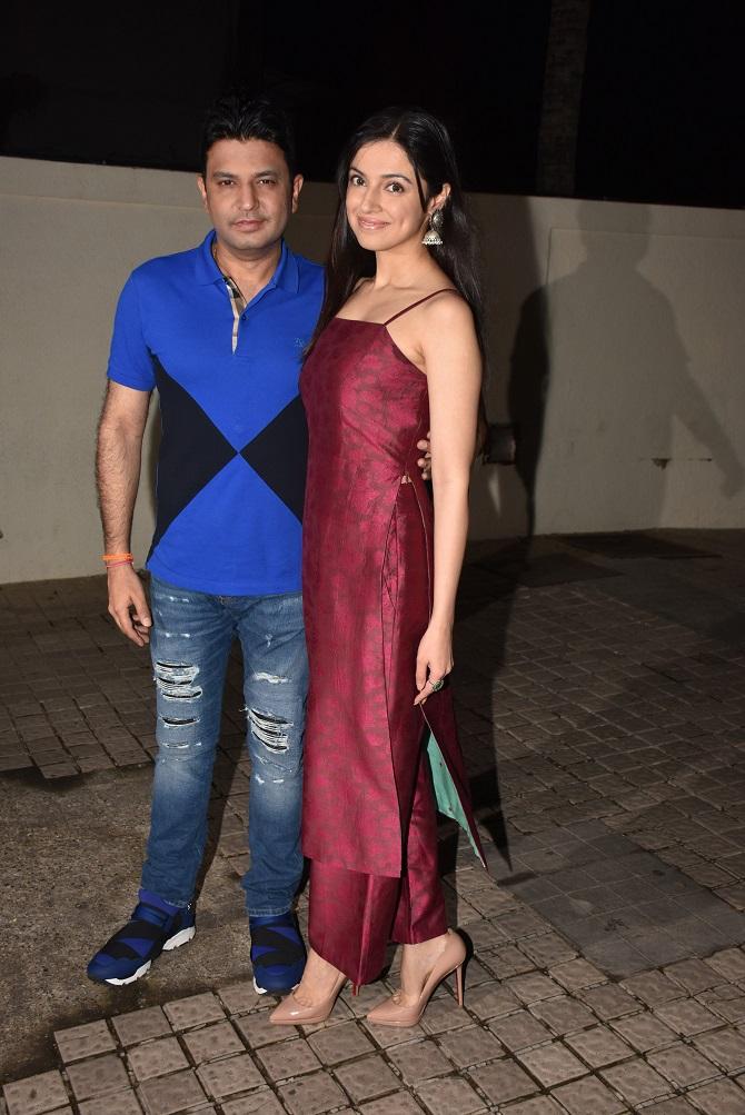 Bollywood Celebs Attend Mubarakan Movie Special Screening