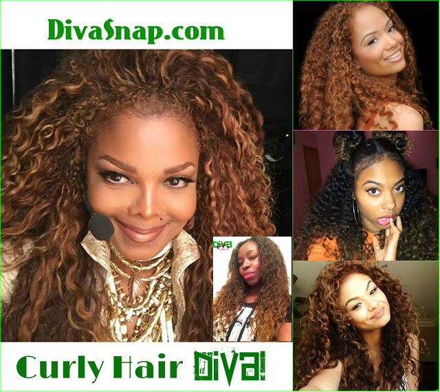 Check Out Janet Jackson Diva Snap More Styled Thier Blonde Brown Nasty Curly Locs Photos Video