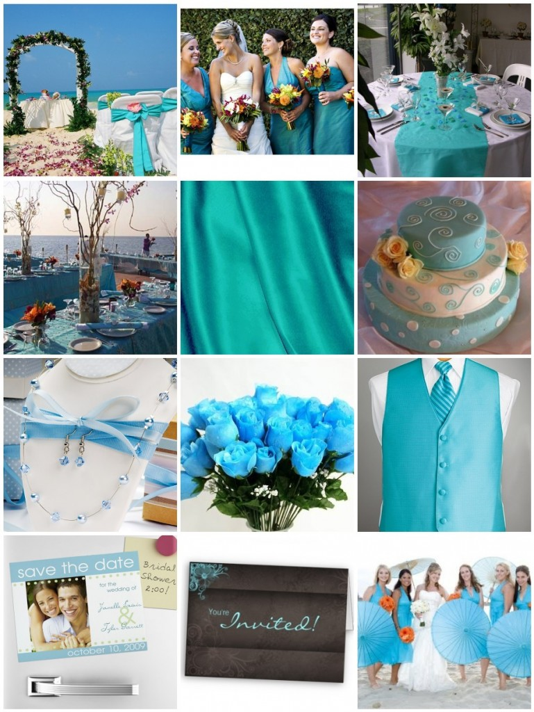 Choose Your Wedding Colors: Turquoise : Have Your Dream