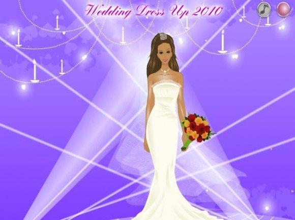 تحميل لعبة تلبيس بنات Wedding Dress Up للكمبيوتر