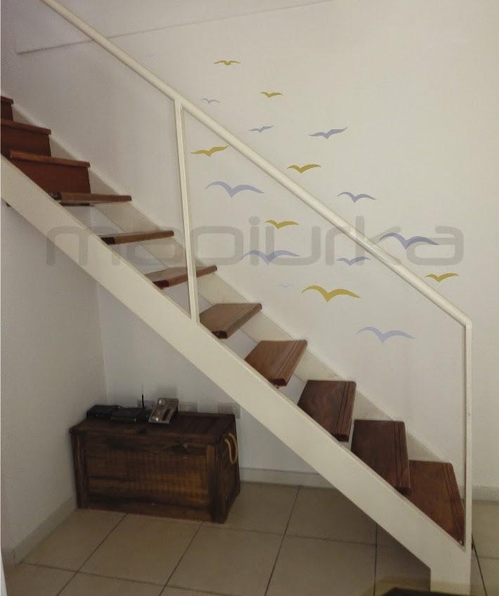Mapiurka adhesivos decorativos ba mayo 2014 - Decorar pared escalera ...