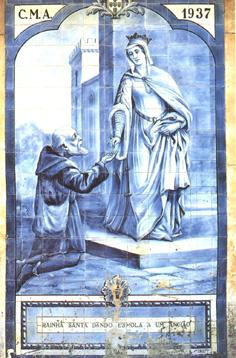 Resultado de imagem para ansião + painel da rainha santa