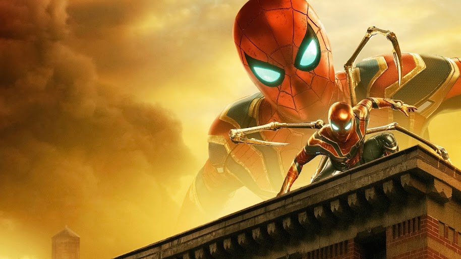 Spider Man Iron Spider Spider Man Far From Home 8k Wallpaper 59