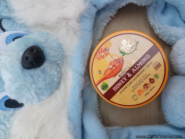 TBC By Nature 24ct Gold Honey and Almond Winter Care Nourishing Cream Review