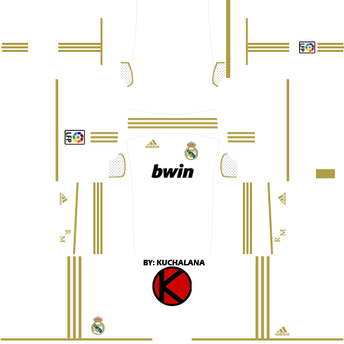 Real Madrid Kits 2011 2012 Dream League Soccer Kuchalana
