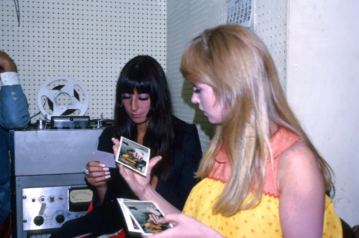 Rare Candid Photographs Of 19 Year Old Cher Records In The