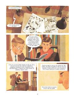 "Reseña de ""Joe Shuster. Una historia a la sombra de Superman"" de Thomas Campi y Julian Voloj - Dibbuks"