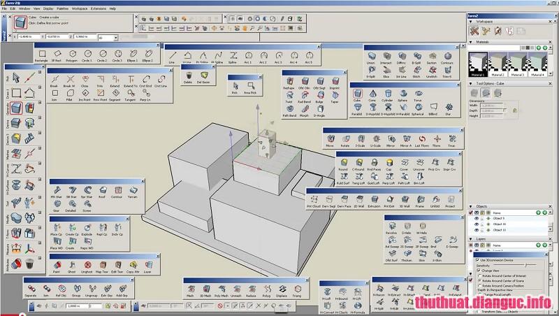 Download formZ Pro 8.6.4 Full Cr@ck – Phần mềm thiết kế 3D mạnh mẽ