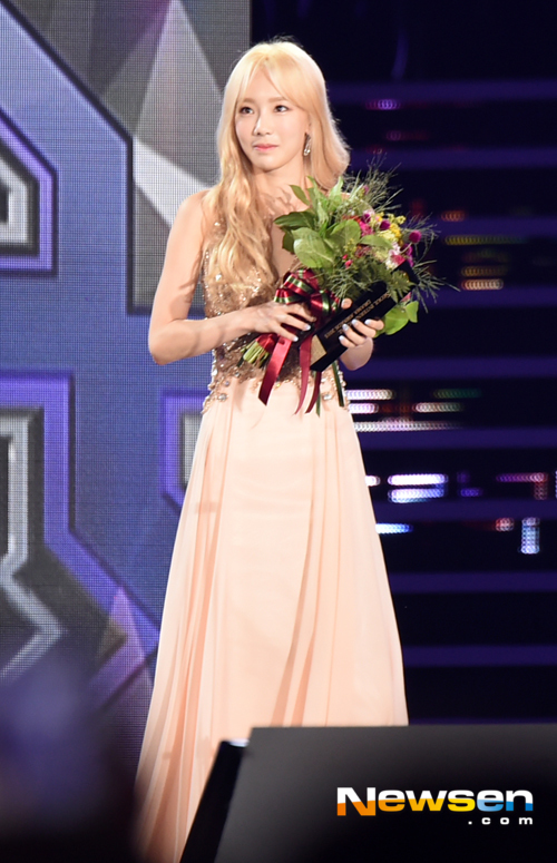 SNSD's TaeYeon won the 'Outstanding Korean Drama OST' from