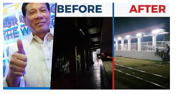 Aksyon Agad Du30 Govt Inayos Agad Ang Kawalan Ng Ilaw Sa Pnr