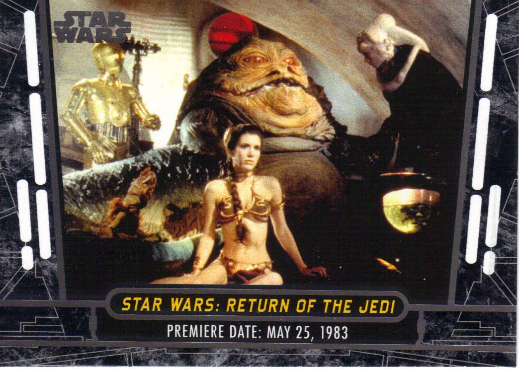 Nothing if not random topps star wars th anniversary