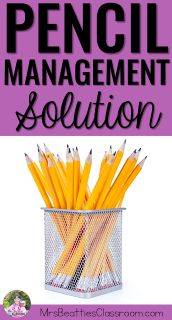 Tired of constantly replacing your students' missing pencils? This pencil management strategy is going to turn your classroom around!
