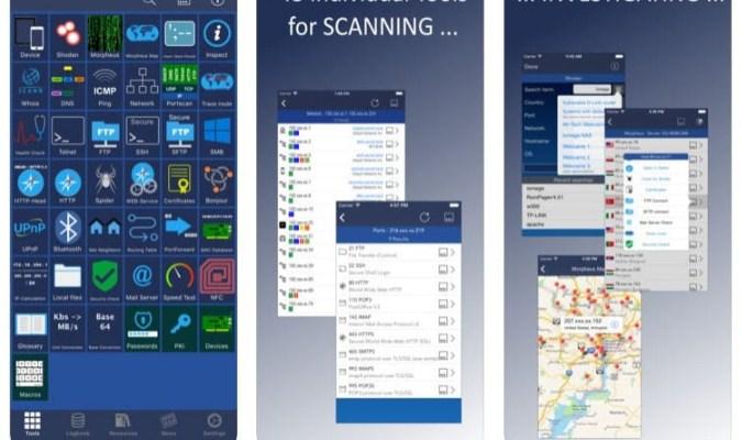 Aplikasi iPhone - iNetwork Toolbox