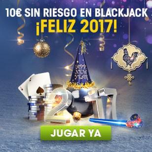 william hill 10€ Sin Riesgo en Blackjack 1 enero 2017