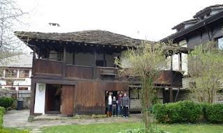 Tryavna, Bulgaria. Casa Slaveikov.