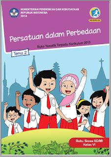 Tema 2 Buku Siswa Kelas 6-VI Kurikulum 2013 Revisi 2018