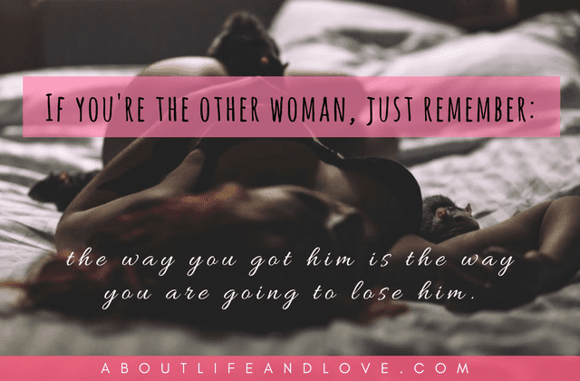 If You Are The Other Woman