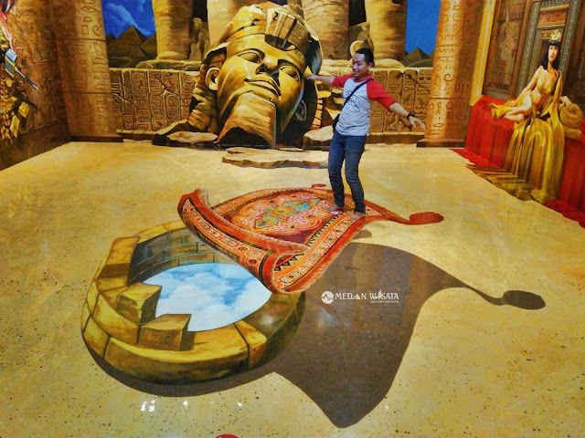 Magic Eye 3D Museum Kualanamu Indonesia - Medan