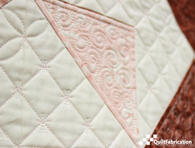 Sparkle Crosshatch quilting