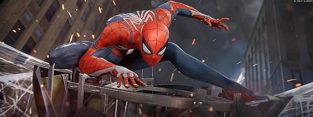 Spiderman exclusivo para PS4