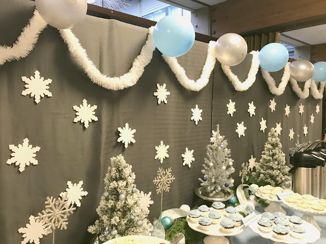 Snow Party for a Baby Shower
