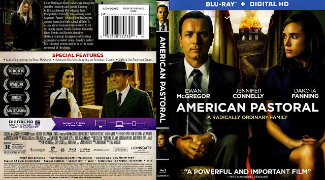 American Pastoral Bluray Cover