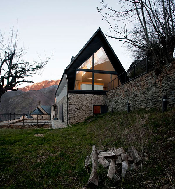 Modern Highland House , Pyrenees, Spain: Most Beautiful