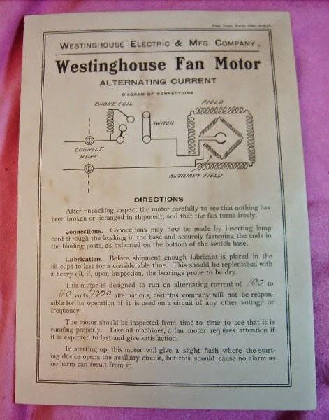 Westinghouse Electric Motors Wiring Diagram on