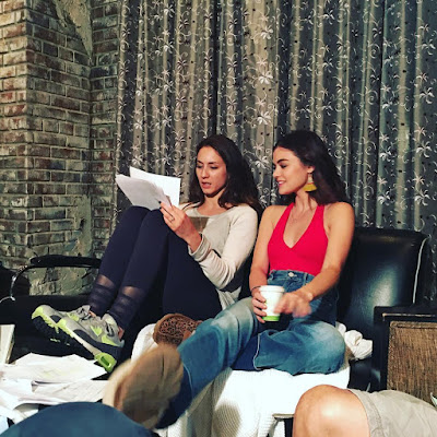 PLL Director Troian Bellisario and Lucy Hale talk script 7x15