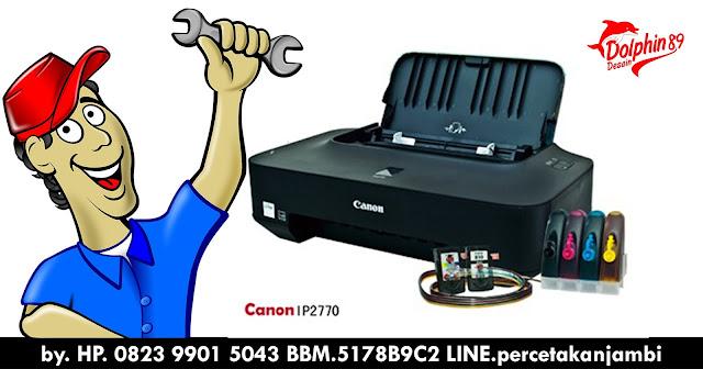 CARA PERAWATAN PRINTER INFUS CANON IP12270, percetakan jambi