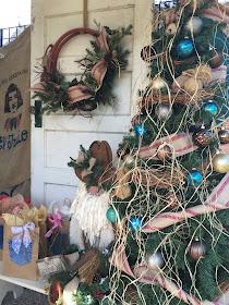 Western Christmas Rope Wreath