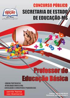 Apostila SED-MS Professor de Educação Básica